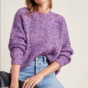 RAGA Anthropologie Pull-Over Chunky Sweater Sz L